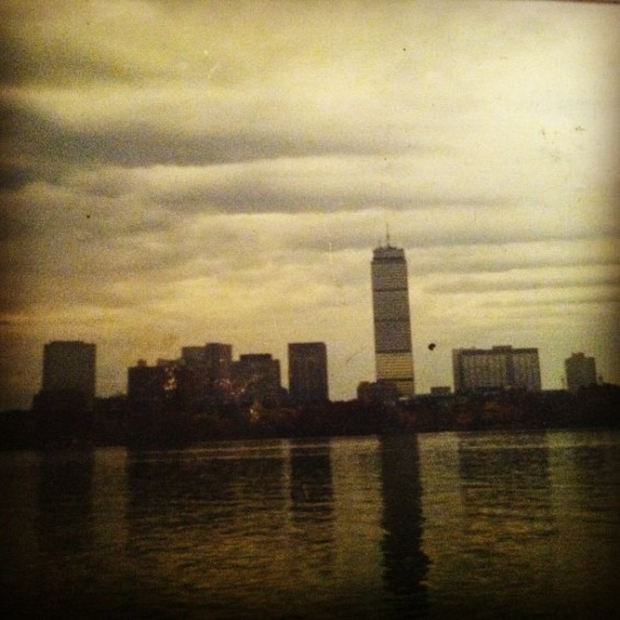 boston skyline 1997